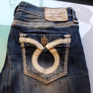 Cute Big Star low mid rise bootcut jeans
